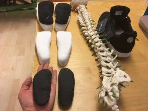 Ortopediska skoinlägg